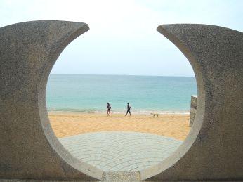望安網垵口沙灘